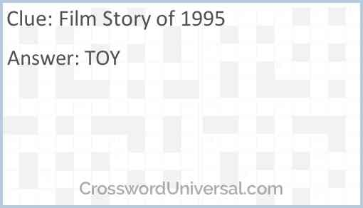 Film Story of 1995 Answer